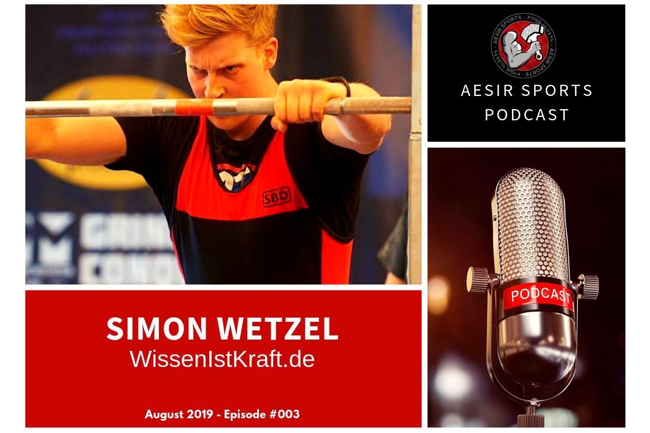 Aesir Sports Podcast - Episode #003 - Simon Wetzel